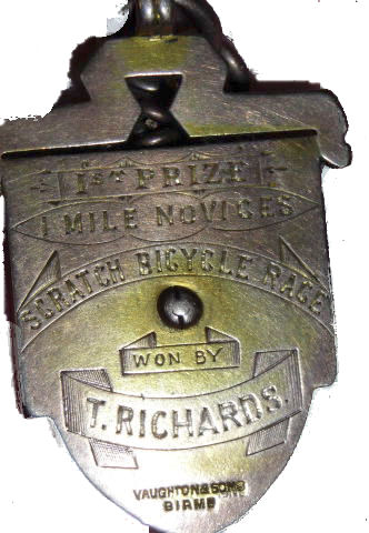 Speedwell Medal 1883