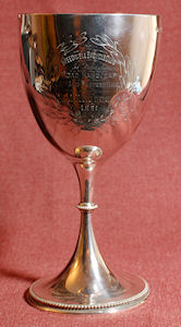 Silver Trophy, dated 1981