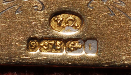 Gold medal - detail